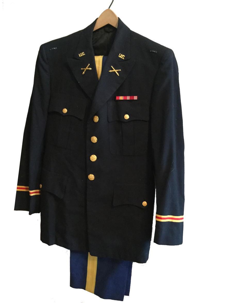 herby crosby dress blues