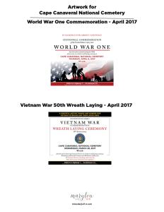 ccnc vietnam and ww1 artwork