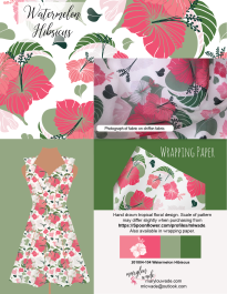 watermelon hibiscus