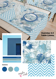 exercise 3.3 table linens dis[lay