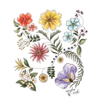 wildflower collage 2 ml 01