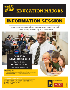 education info session