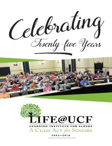 life 25 program cover